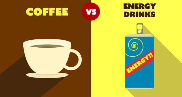 Coffee vs. Energy Drinks- What is it About Energy Drinks that Make them so Good